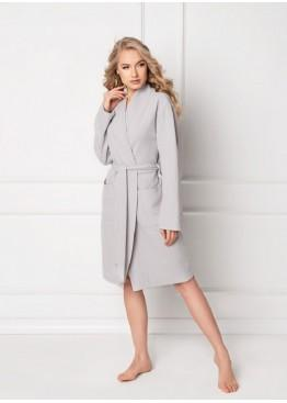 Халат MARSHMALLOW SHORT GREY, ARUELLE