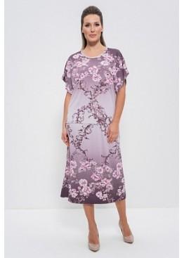Комплект с юбкой 1101 беж/розовыецветы, Cleo