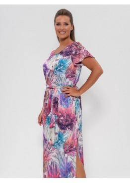 Платье 1233 разноцв. салют, Cleo