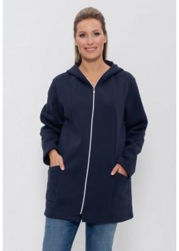 Куртка женская спортивная 77 синий, Cleo