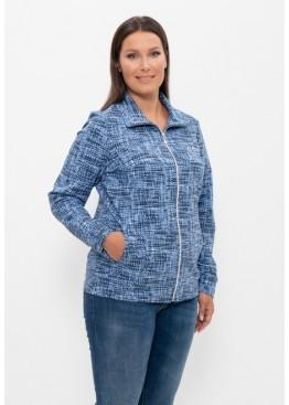 Куртка 820 сине-голубой, Cleo