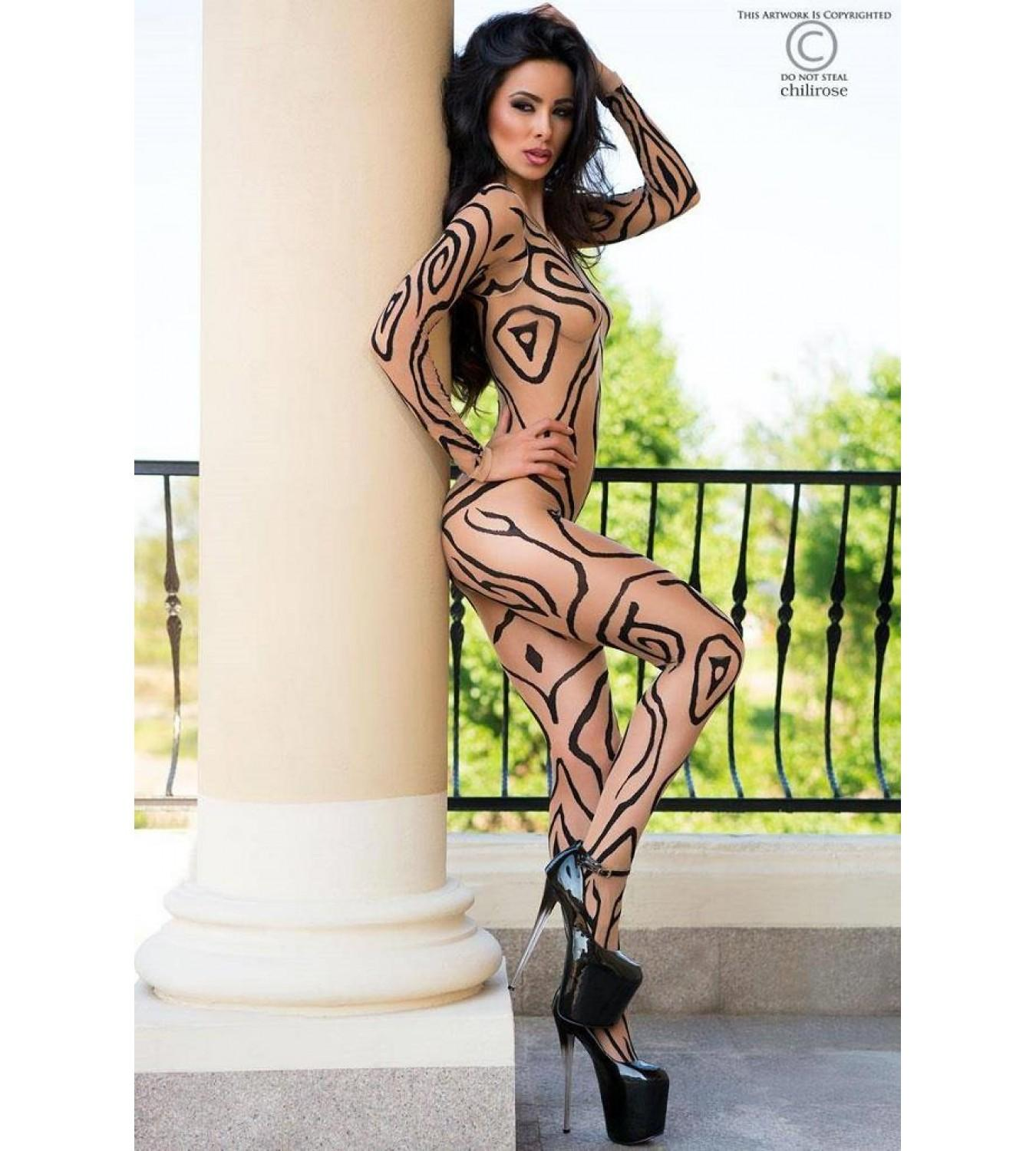 Эротический BODYSTOCKING 4092, CHILIROSE