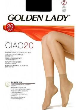 Носки женские Ciao 20 New-nero, Golden Lady