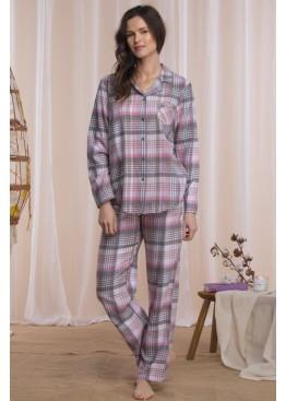 Фланелевая пижама LNS 423 B21, KEY