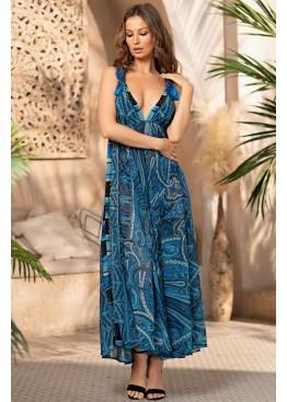 Платье пляжное женское длинное 7045, Mia-Amore