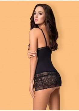 Сорочка AILAY CHEMISE & THONG, Obsessive
