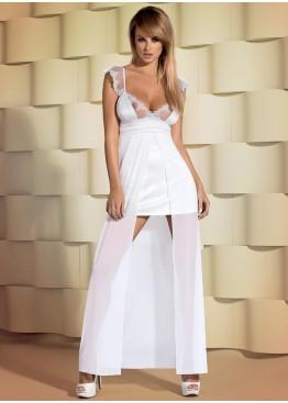 Сорочка  Feelia gown white, Obsessive