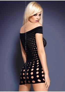 Платье Rocker short black dress, Obsessive