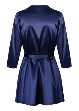 Халат SATINIA ROBE blue, Obsessive