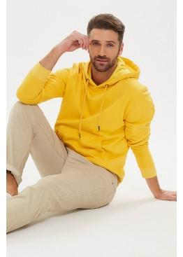 Худи 1543 Lucky Man yellow, PECHE MONNAIE