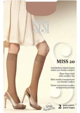Гольфы (2 пары) Miss 20 New - daino, Sisi