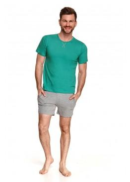 Пижама 2536 SS21 ALBERT green/grey, Taro