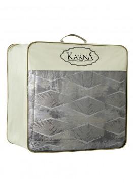"Покрывало жаккард ""KARNA"" MONDI 260x270 (50x70+5)*2см"