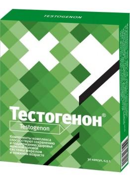 """БАД для мужчин """"Тестогенон"""" - 30 капсул (0,5 гр.)"""